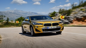The new BMW X2 SUV goes on sale early next year.