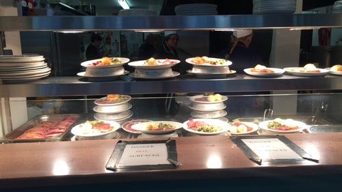 The centre provides meals to around 900 people a day