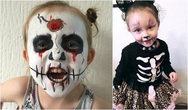 Face-painting for kids