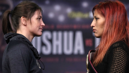 Katie Taylor faces Anahi Sanchez tomorrow night
