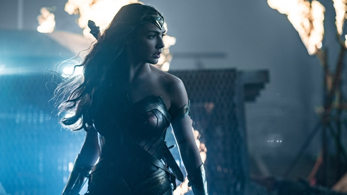 Wonder Woman, played by Gal Gadot, makes a welcome return in Justice League
