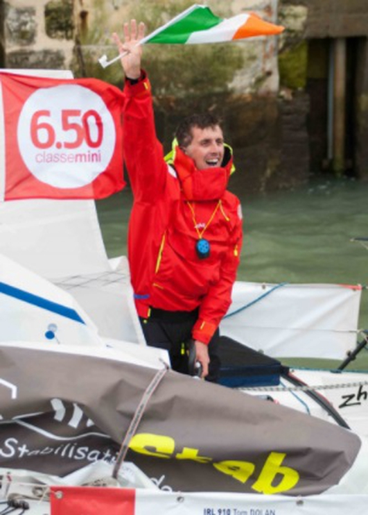 Tom Dolan and the Mini Transat race