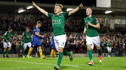 Conor McCormack scored the all important third goal for City