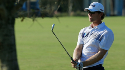 Séamus Power had picked up five birdies before his round was halted after 16 holes