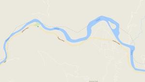 The Prithvi Highway, next to the Trishuli river (Pic: Google Maps)