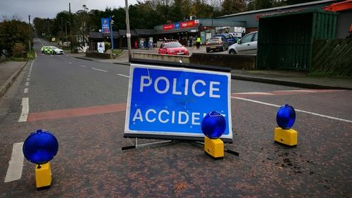 The crash happened at around 12.30am