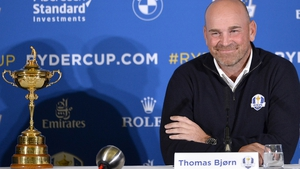 Europe's Ryder Cup captain Thomas Bjorn will be looking to reclaim the title