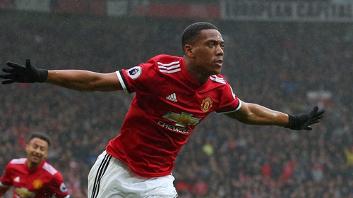 Anthony Martial has scored 36 goals for United