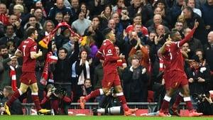 Daniel Sturridge celebrates his goal.