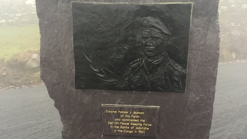 Colonel Pat Quinlan was Commandant of 'A' Company, 35th Infantry Battalion, in September 1961 when he and his men came under attack at Jadotville in the Congo