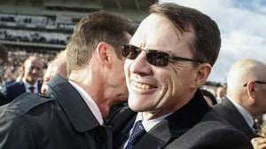 Aidan O'Brien equalled Bobby Frankel's long-standing record last weekend