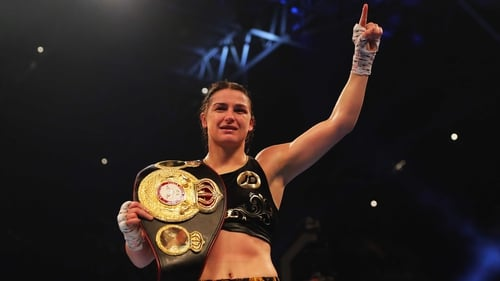 Katie Taylor soaks up the glory