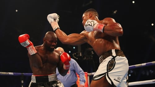 Anthony Joshua beat Carlos Takam on a technical knockout in the 10th round in Cardiff tonight