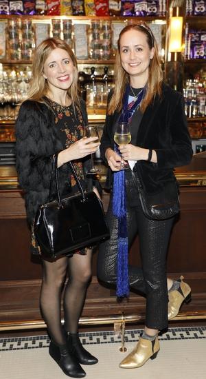 Nadine O'Regan and Esther O'Moore
