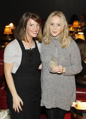 Nell Roddy and Sinead O'Brien
