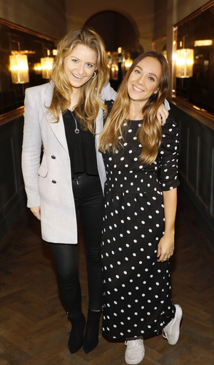 Rebecca Headon and Olivia Parker
