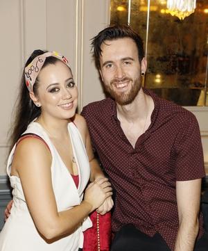 Sarah Clayton Lea and Nathan O'Reilly