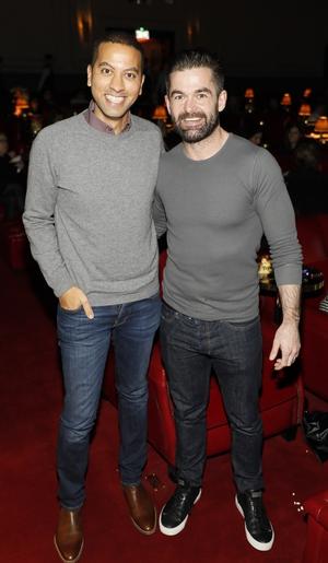 Sean Munsanje and Mike Sheridan