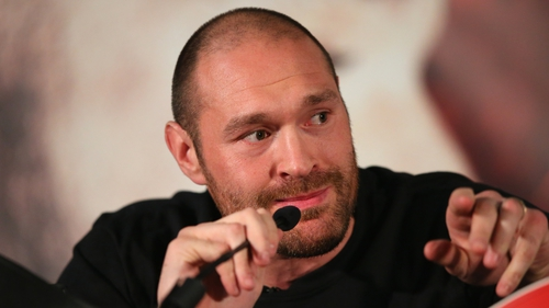Tyson Fury has said he wants to fight again in 2018.