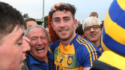 Paddy McBrearty hit eight points for Kilcar.