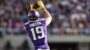 Adam Thielen was supreme at Wembley