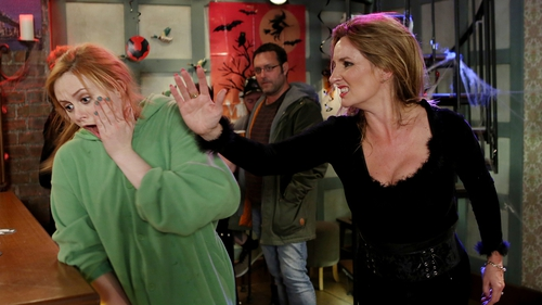 Carol and Karen come to blows on Fair City