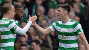 Kieran Tierney is closing in on 100 first-team appearances for Celtic