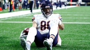 Zach Miller landed awkwardly on his left leg