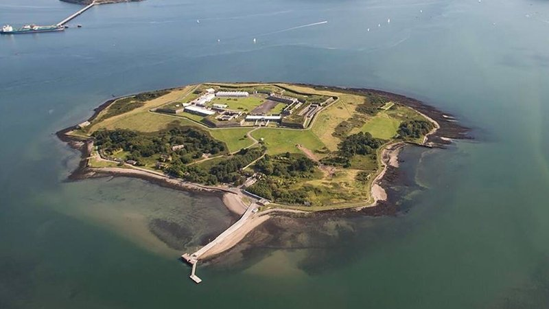 """Spike Island: """"the story of the prison is told alongside stories of the island's other pasts"""""""