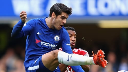 Alvaro Morata says he would probably sign a 10-year contract with Chelsea.