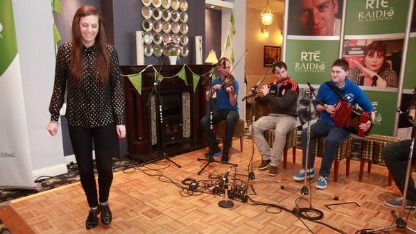 Highstepping at Oireachtas na Gaeilge