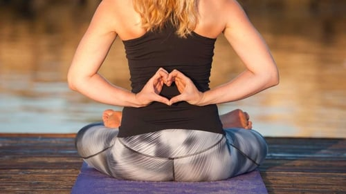 Balance Your Heart Chakra with these Yoga Poses.
