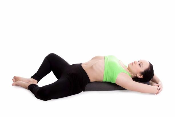Reclined Bound Angle Pose (Supta Baddha Konasana)