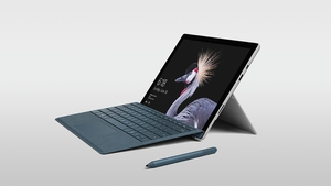 The LTE version of the Surface Pro