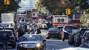 More than 20 people were injured in the attack in Lower Manhattan