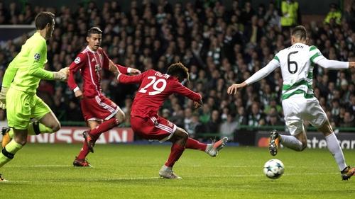 Celtic battled hard but came off second best against Bayern