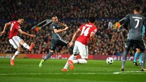 Nemanja Matic's shot led to a bizarre Manchester United goal