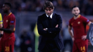 Antonio Conte endured a night to forget against Roma