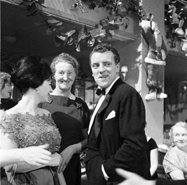 Opening night of Telefís Éireann, 1961