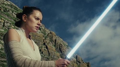 Daisy Ridley in The Last Jedi