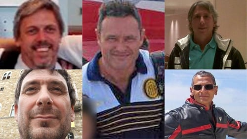Five friends from Argentina died in the attack (Pics: Facebook)