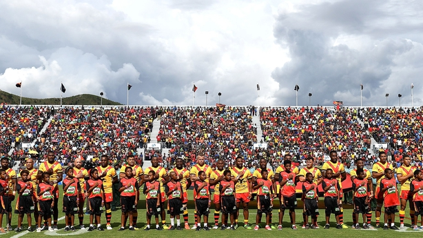 PNG fight off fearless Ireland in error-ridden, passionate RLWC clash