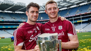 David Burke, left, and Joe Canning have now shared eight All Star awards between them