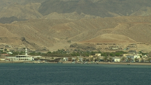 The region of Obock where boats set off for the Middle East