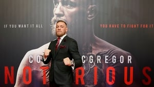 Conor McGregor on the red carpet in The Savoy Cinema, Dublin