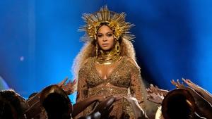 Beyoncé at this year's Grammys