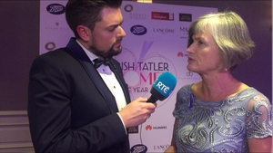 James Patrice spoke with Margaret Martin, Director of Women's Aid at the 2017 Women of the Year Awards.