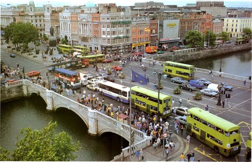 O'Connell St Bridge 1990's