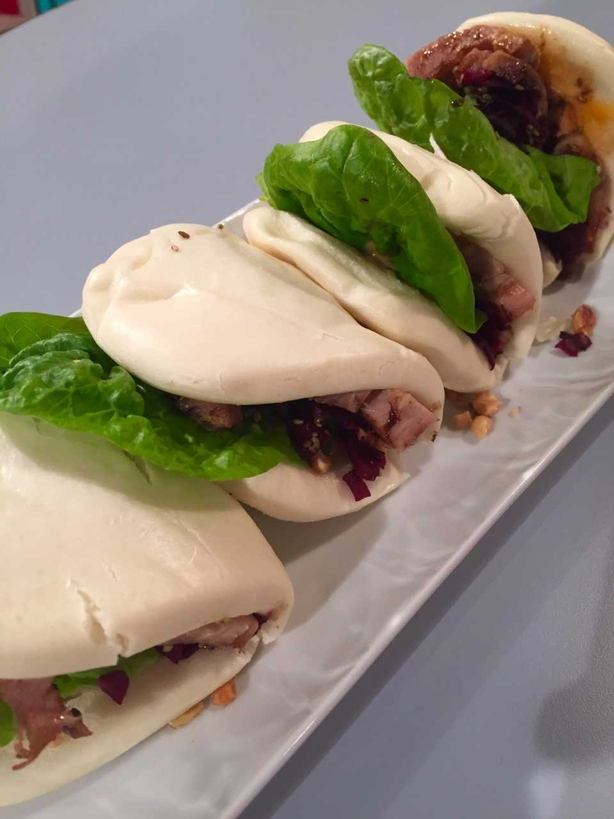 Bryan McCarthy's Bao Buns with Pork