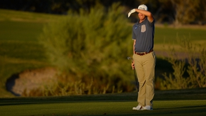 Seamus Power's 14-hole round included five birdies